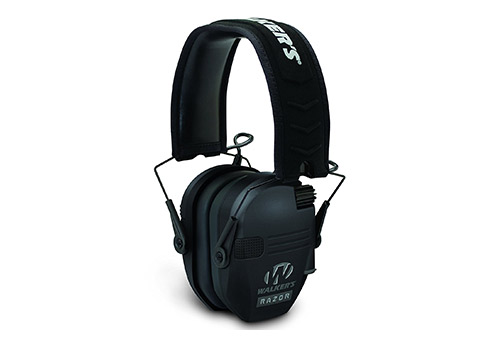 "Walker's Game Ear Walker's Razor Slim Electronic Hearing Protection Muffs with Sound Amplification and Suppression. ""Protect It or Lose It"""