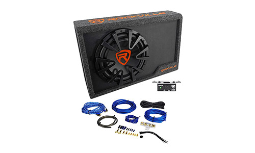 Rockville Powered Car Subwoofer