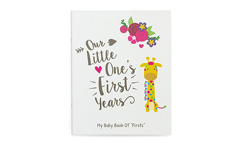 A Perfect Baby Shower Gift Idea For Expecting Parents Baby Keepsake Book Tiny Ideas Milestone Baby
