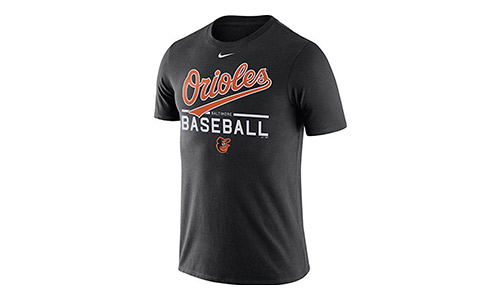 Baltimore Orioles Nike Home Practice T-Shirt