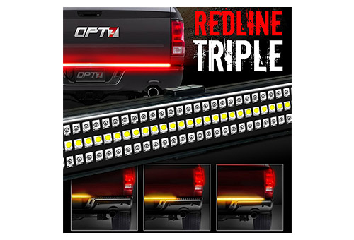 #Redline triple led tailgate light bar