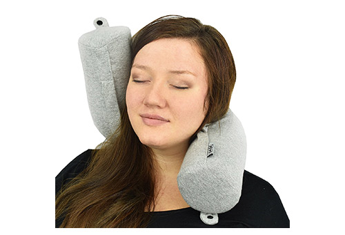 Dot$Dot Twist Memory Foam Travel Pillow