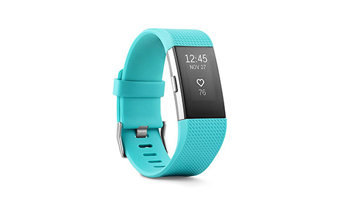 The Fitbit Charge 2 Heart Rate + Fitness Wristband