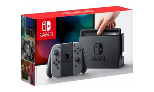 The Nintendo Switch Gray Joy Con