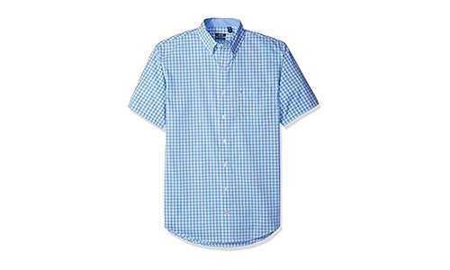 IZOD Poplin Short Sleeve Shirt