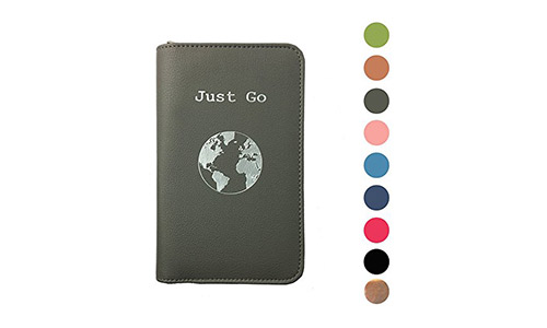 lovie style Phone Charging Passport Holder