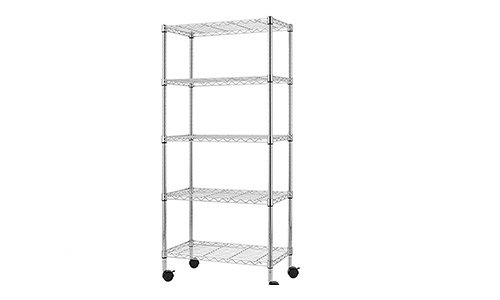 Finnhomy heavy duty 5 tier wire shelving unit