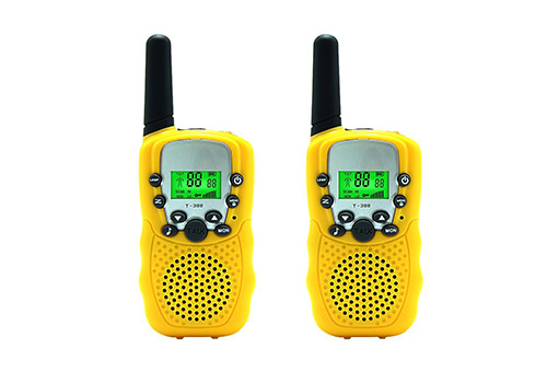 Aphse Kids Walkie Talkie Two Ways Radio Toy T-388 Walkie Talkie for Kids