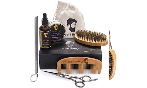 Rapid Beard Grooming and Trimming Kit