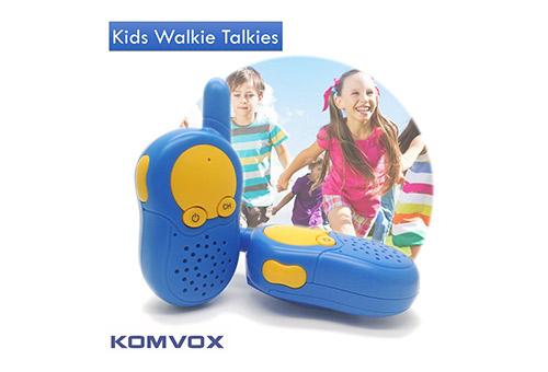 KOMVOX Toy Walkie Talkies for Kids and Toddlers