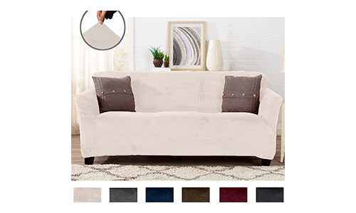 Great Bay Home Strapless Slipcover