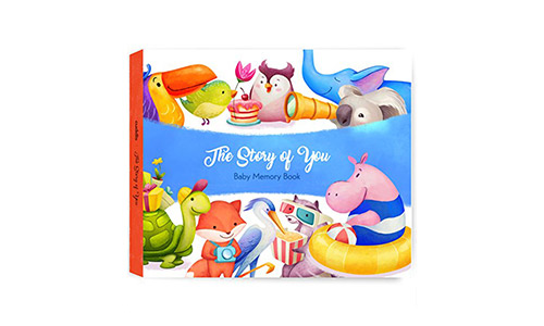 Cuddls Baby Memory Book with Stickers