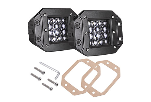 Quad row led pods, AKD part two packs eighty-four wart led flush mount