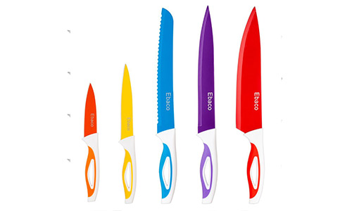 Ebaco 5 Colorful Knife Set