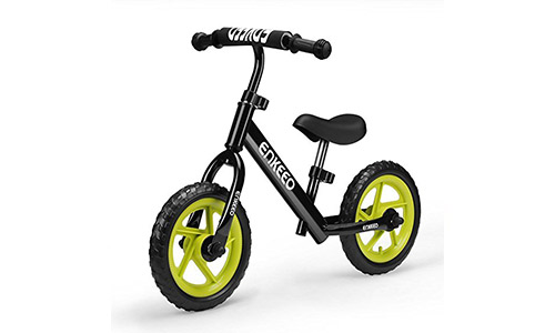 ENKOO presents No Pedal 12 Sport Balance Bike with Carbon Steel Frame