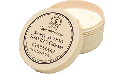 Sandalwood Shaving Cream Bown by TAYLOR OF THE OLD BOND STREET 5.3oz