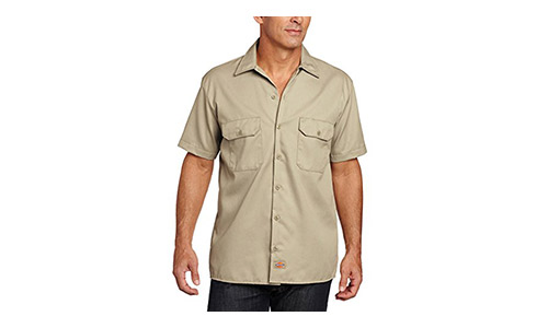 The Dickies Men's Short Sleeve Workshirt