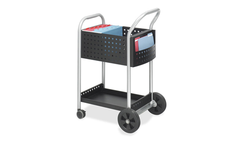 Safco Products 5238BL Scoot Mail Cart