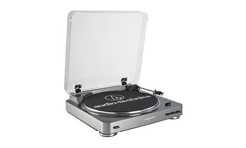 The Audio Technica AT LP60 Stereo Turntable System