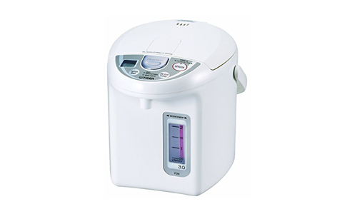 Tiger PDN-A30U-W Electric Water Boiler and Warmer, White, 3.0-Liter
