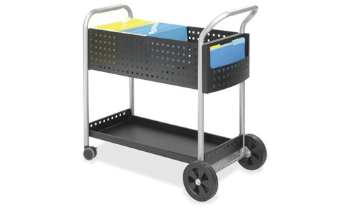 Global Industrial Deluxe Mail/Office File Cart