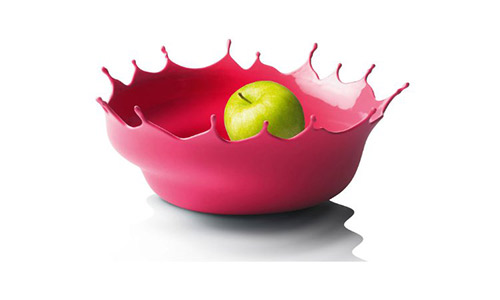 Menu dropp! Fruit bowl, neo red