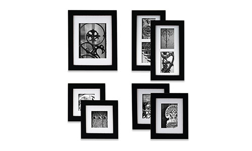 Gallery Perfect Black Wood Photo Frame