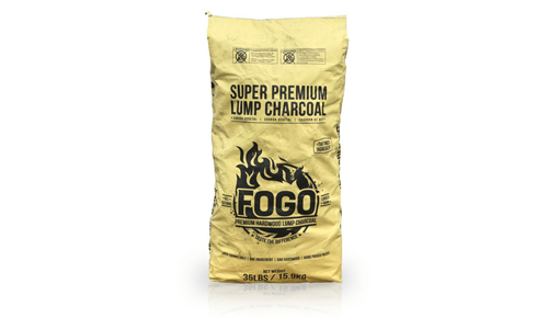 Fogo presents Premium Quality Natural Harwood Lump Charcoal 35 lbs