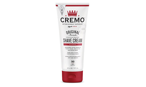 CREMO presents Superior Smooth Original Shaving Cream Fights Cuts, Nicks and Razor Burns, 6oz