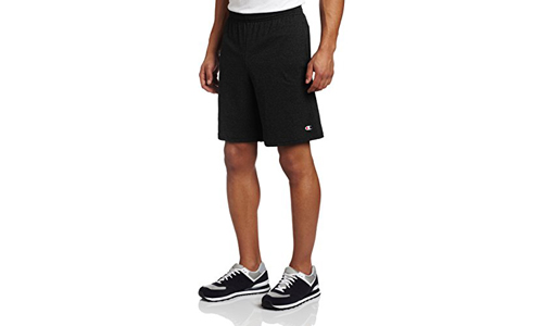 Champion presents Men's Jersey Short Black with Pockets
