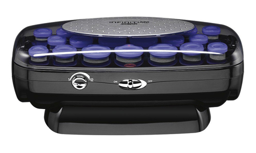 Infiniti Pro by Conair Instant Heat Ceramic Flocked Rollers with Cord Reel: