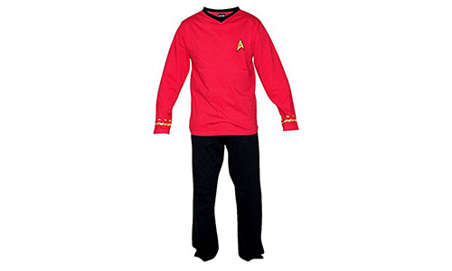 Robe's Factory Star Trek Red Scotty Pajama