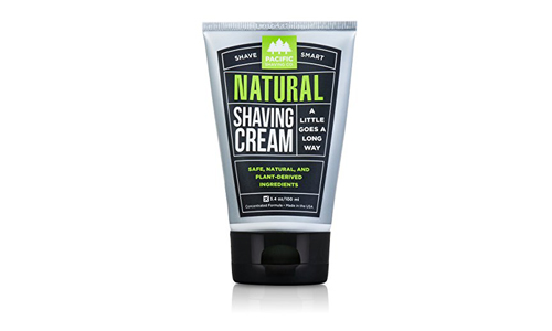 Pacific Shaving Company presents Natural Shaving Cream for Men and Women with Safe, Plant Derived Ingredients
