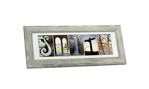 Personalized Framed Name.