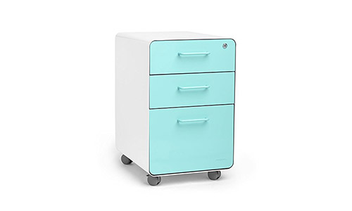 The Poppin 3-Drawer File Cabinet