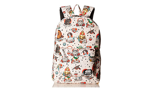 Star Wars Tattoo Flash Print Backpack