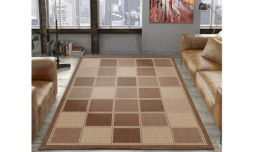 Ottomanson Contemporary Box Design Rug