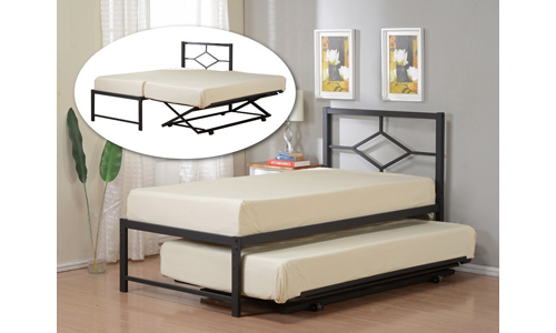 Kings Brand Furniture Black Metal Bed