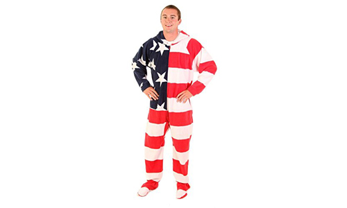 One-Piece Unisex Footed Adult Onesies by FOREVER LAZY