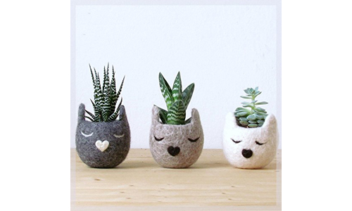 The Yarn Kitchen Animal Planters