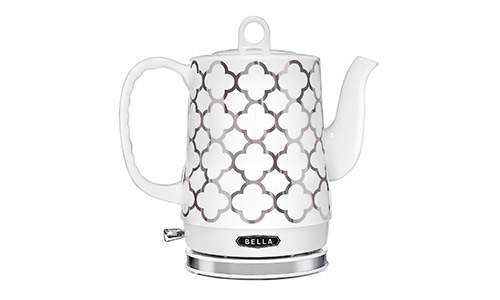 BELLA Ceramic Electric Tea Kettle