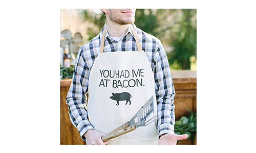 PCB Home's You Had Me at Bacon apron