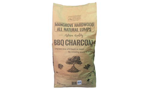 MANGROVE CHARCOAL presents 20 lbs BBQ Charcoal Lumps