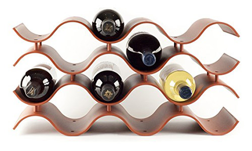Birando wave wine rack