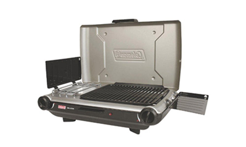 The Coleman Portable Camp Propane Grill/Stove and Consumer Electronics