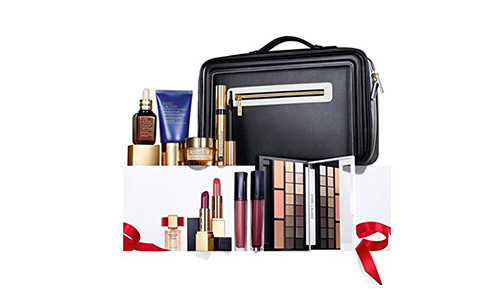 Estee Lauder Blockbuster Holiday Make Up Gift Set w/Train