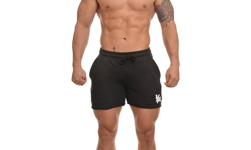 YoungLa presents French Terry Men's Workout Shorts