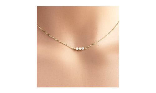 The Tiny Cultured Pearl Necklace