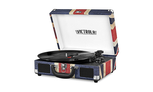Victrola Vintage 3-Speed Bluetooth Suitcase