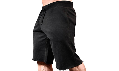 Monsta Clothing Co. presents MMA Black Workout Training Shorts
